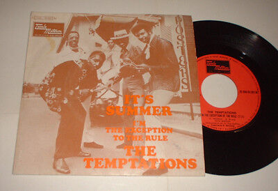 France Temptations Its Summer Tamla Motown C00692683 Picture Cover