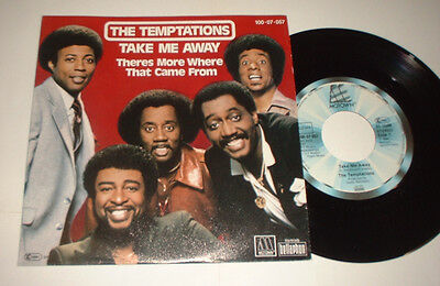 German? Temptations Take Me There Tamla Motown 10007057Picture Cover