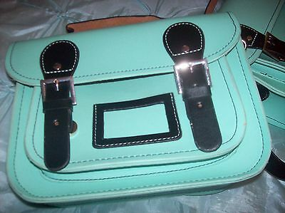 job lot of girls satchel school bags in light blue r.r.p. 17.99 each made for w