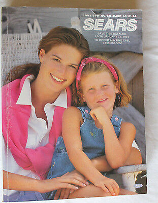 1993 SEARS Department Store Catalog - SPRING SUMMER