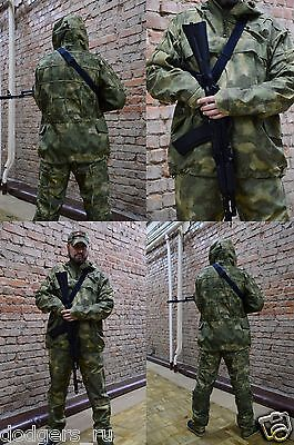 New Russian Army Suit, Windbreaker Jacket, Pants, New Camo Alder, by RSS