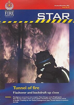 'NZFS Star' (New Zealand Fire Service Journal) - November 2001