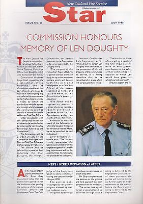 'NZFS Star' (New Zealand Fire Service Journal) - July 1998