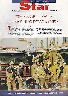 'NZFS Star' (New Zealand Fire Service Journal) - March 1998