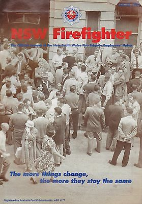 New South Wales (Australia) Firefighter Journal - Winter 1995