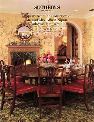 Sotheby's The Collection Of Mr. And Mrs. Albert Nipon