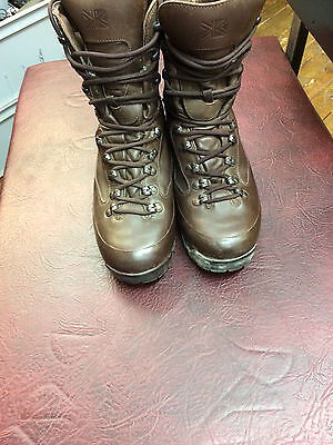 Genuine Used British Army Karrimor Sf Cold Wet Weather Combat Boots Size 9M