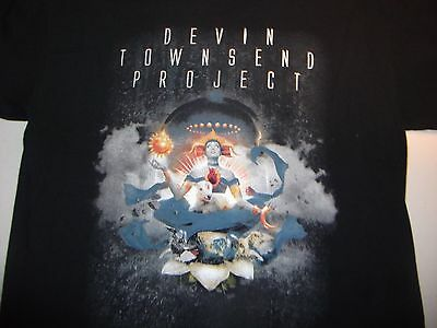 Devin Townsend Project 2016 North America Concert  Shirt LG Strapping Young Lad