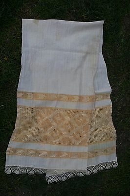 Hand-woven fabric- tablecloth; Tissue Serving, cotton 124