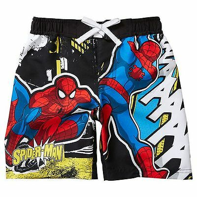 NEW Spider-Man Boardshorts Kids Size 2
