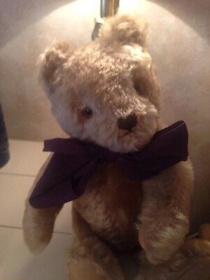 "Gorgeous Vintage 1960 ""steiff"" Blonde Mohair 15"" Teddy Bear-Germany/jointed"