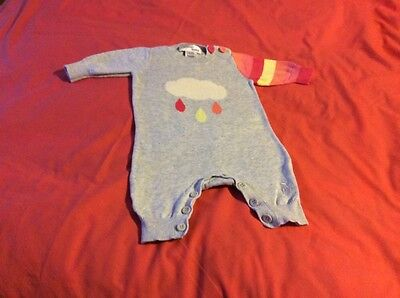 NEW Bonnie Baby all -in-one outfit 0-3 months