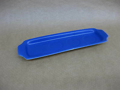 """Vintage Midwinter """"Roselle"""" Egg Cup Stand / Tray ~ Blue Egg Cup Holder ~ 1960's?"""