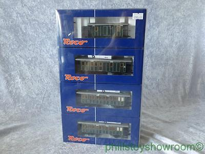 Ho Roco 6400 Lokabahnwagen Coach Wagon Set Of 4 Superb Condition