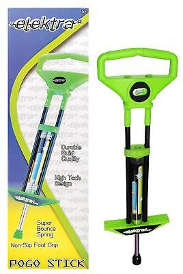 Elektra Green Pogo 91cm Jump Stick Childrens Kids Outdoor Bounce Toy