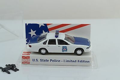 Busch 47689 Chevrolet Caprice Alabama State Trooper Police HO Scale 1:87