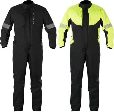 Alpinestars Mens Hurricane 1 Piece Over-Riding-Gear Waterproof Rain Suit