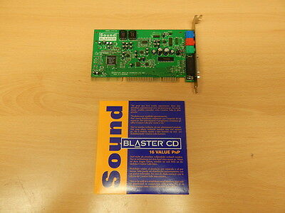 Creative Soundblaster Ct4170 Isa Sound Card +  Driver Disk , Windows 3.1 & 95