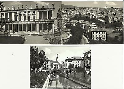 Italian Picture Post Cards - Town Of Vicenza, N.3  Pieces