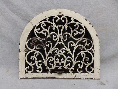 Antique Cast Iron Arch Top Dome Heat Grate Wall Register 11x13 185-17R