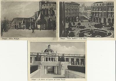 Italian Picture Post Cards - Town Of Bologna, N.3  Pieces