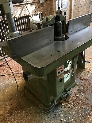 Wilson Spindle Moulder complete with power feed
