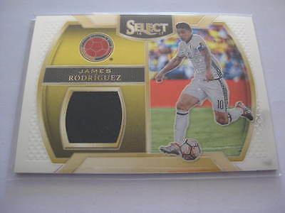 James Rodriguez Jersey Card Real Madrid Panini Select Chrome 2016 2017 Topps
