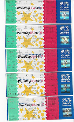UNUSED 1994 World Cup ticket: Sweden v Bulgaria: USA 94 third-place Rose Bowl