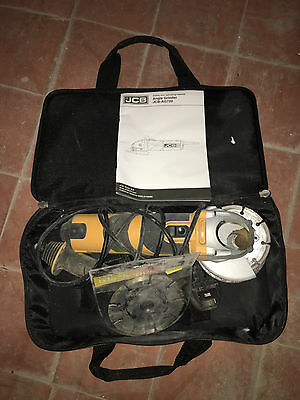 JCB AG720 Electric Corded Angle Grinder + JCB Bag + spare disc REDUCED TO CLEAR