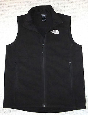 The North Face Black WindBlock Fleece Vest, Men's S