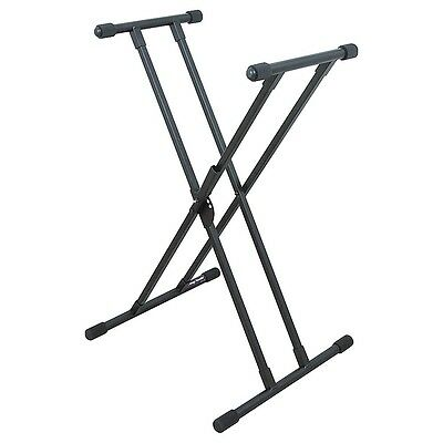 On-Stage Stands Deluxe Keyboard X Stand LN