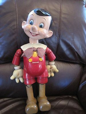 20 inch Ideal Pinocchio Wood Doll from 1930's