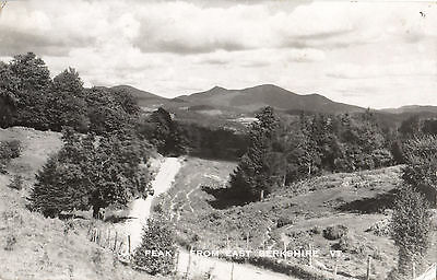 Peak From EAST BERKSHIRE Vermont USA 1957 Real Photo Postcard