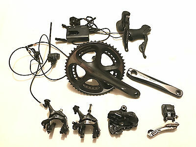 Dura Ace 7970 Di2 Electronic 10 Speed groupset Bargain/Rare