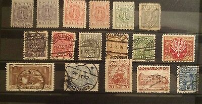 poland stamps collection