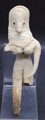 Rare Ancient Indus Valley Fertility Idol From The Harappa Culture 3300-1200 Bc