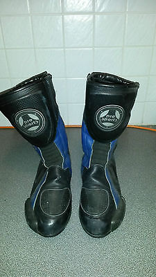 Hein Gericke Motorcycle Boots Mens Size 10 EU 43