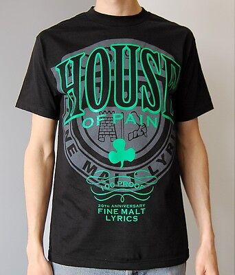 HOUSE OF PAIN OFFICIAL 20TH TOUR T SHIRT Cypress Hill Funkdoobiest Onyx Hip hop