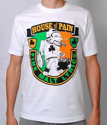 HOUSE OF PAIN OFFICIAL CLASSIC T SHIRT Cypress Hill Funkdoobiest Onyx Hip hop