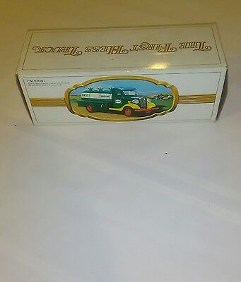 Vintage 1980 The First Hess Truck Toy Bank W/ Box
