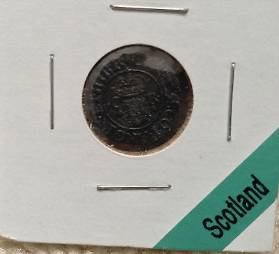 1635 Scotland Groat Coin Charles I of England