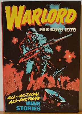 WARLORD BOOK FOR BOYS 1978 Annual World War Two Stories