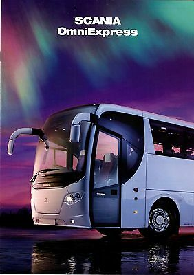 Manufacturers Promotional Brochure - Scania OmniExpress: Launch: Road Test 2009