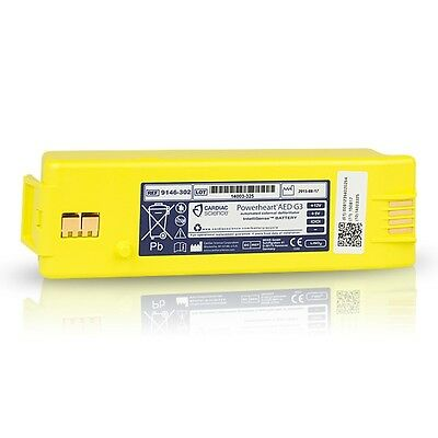 Cardiac Science Powerheart AED G3 Battery 9146 - 102 202 302 100% BATTERY LIFE