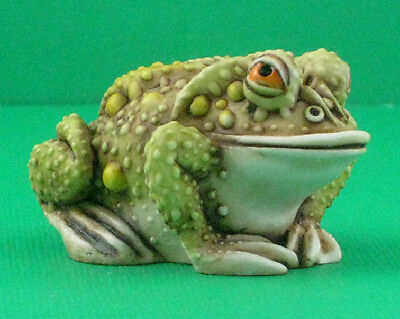 Harmony Kingdom THOUGHTFUL PRINCE - Frog - Solid Body - LE 450 Pieces - Signed