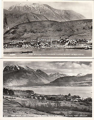 2  X   FORT  WILLIAM  POSTCARDS        ,  INVERNESS ,  Highland (  S81  )