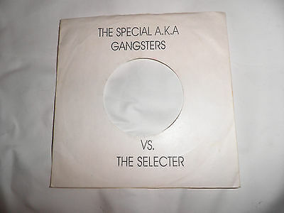 """the specials  selecter gangsters two tone 7"""" record repro cover ska mod punk"""