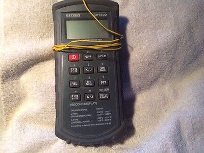 EXTECH 421502 Types J, K Thermometer