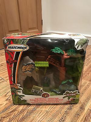 Matchbox Jungle Adventure Take Along & Play Set With Sounds Boxed In VGC