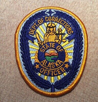 AK Alaska State Department of Corrections Patch
